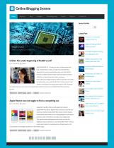 PHP & MySQL Project on Online Blogging System