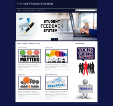 PHP and MySQL Project on Student Feedback System