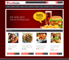online food ordering system project