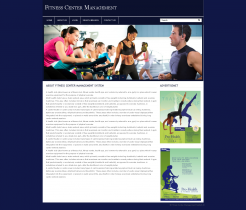 PHP and MySQL Project on Fitness Center Management