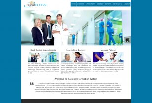 PHP and MySQL Project on Patient Information System