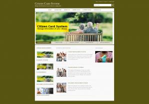 Java, JSP and MySQL Project on Citizen Card System