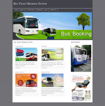 PHP and MySQL Project on Bus Ticket Management System