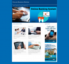PHP and MySQL Project on Online Banking System