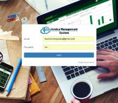PHP and MySQL Project on Invoice Management System