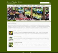 Java JSP and MySQL Project on Online Nursery Store