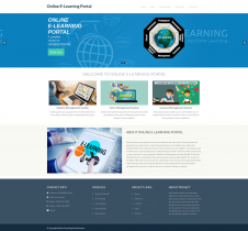 Python, Django and MySQL Project on Online Elearning Portal