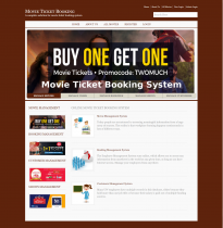 C#, ASP.Net and MySQL Project on Online Movie Ticket Booking System