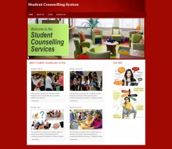 PHP and MySQL Project on Student Counselling System