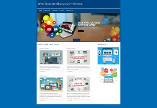 PHP and MySQL Project on Web Template Management System