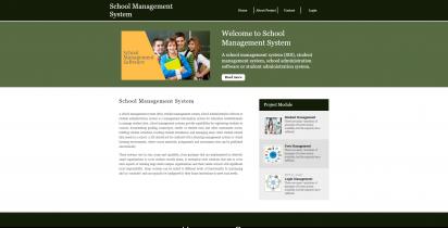Python, Django and MySQL Project on School Management System