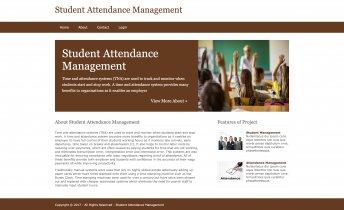 Python, Django and MySQL Project on Student Attendance System