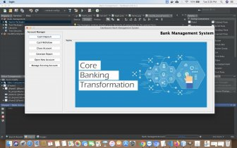 Java and MySQL Project on Bank Management System