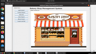 Java and MySQL Project on Bakery Shop Management System