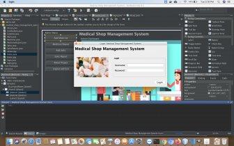 Java and MySQL Project on Medical Shop Management System