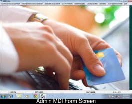 Visual Basic and MS Access project in Electricity Billing System