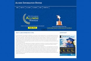 PHP and MySQL Project on Alumni Information System