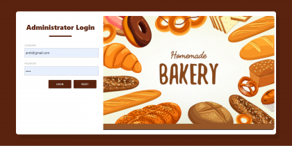 Bakery Shop Management System Spring Boot Project