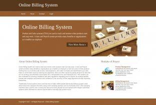 Python, Django and MySQL Project on Online Billing System