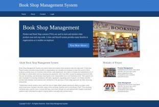 Python, Django and MySQL Project on Book Shop Management System