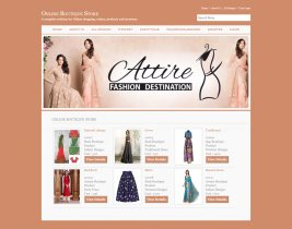 C#, ASP and MySQL Project on Online Boutique Store
