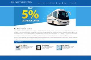 Python, Django and MySQL Project on Bus Reservation System