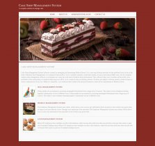 Java, JSP and MySQL Project on Cake Shop Management System