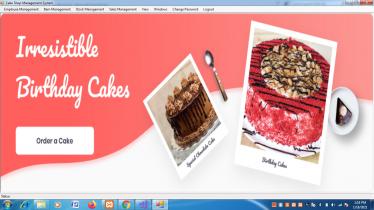VB.net and MySQL Project on Cake Shop Management System