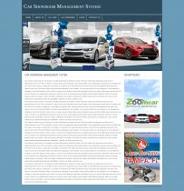 PHP and MySQL Project on Car Showroom Management System