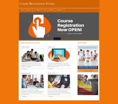 PHP and MySQL Project on Course Registration System