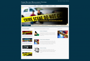 Java, JSP and MySQL Project on Crime Record Management System
