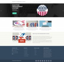 PHP and MySQL Project on Election Management System