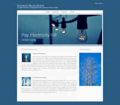 C#, ASP and MySQL Project on Electricity Billing System