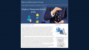 PHP and MySQL Project on Employee Management System