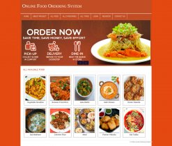 PHP and MySQL Mini Project on Online Food Ordering System