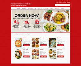 C#, ASP and MySQL Project on Online Food Ordering System