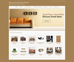Java, JSP and MySQL Project on Online Furniture Store