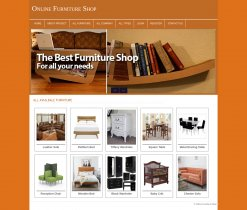 PHP and MySQL Mini Project on Online Furniture Store