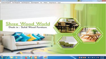 VB.net and MySQL Project on Furniture Shop Management System