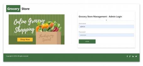 NodeJS, AngularJS and MySQL Project on Grocery Store Management System