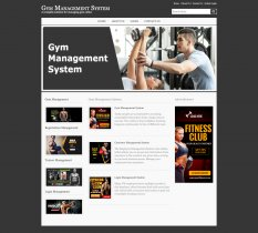 Java, JSP and MySQL Project on Gym Management System Screens