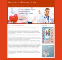 PHP and MySQL Project on Health Insurance Management System