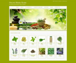 Java, JSP and MySQL Project on Online Herbs Store