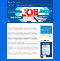 PHP and MySQL Project on Online Job Portal