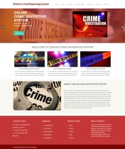 Python Django and MySQL Project on Online Crime Reporting System