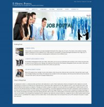 Java, JSP and MySQL Project on E-Hiring Portal