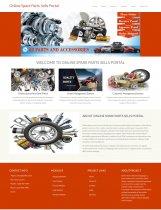Python Django and MySQL Project on Online Spare Parts Sells Portal