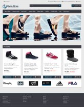 PHP and MySQL Project on Online Shoe Store