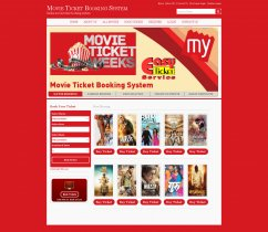 Java, JSP and MySQL Project on Online Movie Ticket Booking System