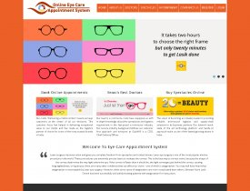 PHP and MySQL Project on Eye Care Appointment System